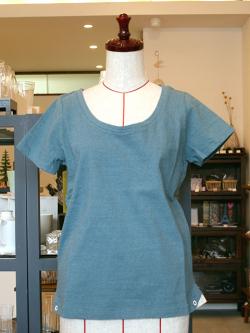 アンキャシェット Encachette ハトメTシャツ Tシャツ コットン