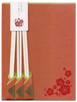 美濃和紙 古川紙工 日本の色箸セット