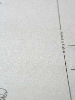 JOUTOMAA ヨートマ ポストカード 紙質